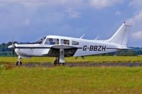 G-BBZH @ EGBP - Piper PA-28R-200 Cherokee Arrow ll,[28R-7435102] Kemble~G 18/08/2006 - by Ray Barber
