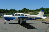OY-IBS @ ESGP - Piper PA-28R-201 Arrow III [2844064] Goteborg-Save~SE 09/06/2008
