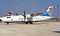 9A-CTS @ LOWW - Aerospatiale ATR-42-310QC [312] (Croatia Airlines) Vienna~OE 20/06/1996 - by Ray Barber