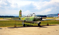 OE-CCW @ LOWG - Beech XT-34A Mentor [G-002] Graz~OE 19/06/1996