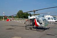 N412SF @ EBZW - Bell 47G [23] Zwartberg~OO 16/08/2002