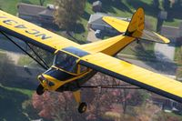 N43754 @ 2D7 - In flight over Stark County Ohio - by Greg Stull