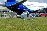 G-BZOM @ EGBP - Rotorway 162F Exec [6243] Kemble~G 10/07/2004
