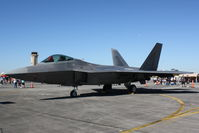 04-4079 @ KHST - F-22 Raptor (04-4079) from 49th Fighter Wing at Holloman Air Force Base sits on static display at Wings over Homestead - by Jim Donten