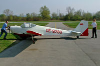 OE-9280 @ LOAU - Scheibe SF-25C Falke [44401] Stockerau~OE 16/04/2005