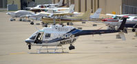 N911LP @ KLEX - Lexington PD Chopper