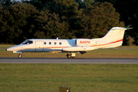 N40PK @ ORF - Rolling out on RWY 5 after arrival from Laurence G Hanscom Field (KBED) - Bedford, MA. - by Dean Heald