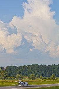 D-CVVV @ EDMA - Big thunder storm - by Marc Ulm