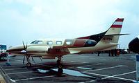OE-FOW @ EDDV - Swearingen SA.226T Merlin IIIB [T-318] Hannover~D 26/04/1980. Image taken from a slide.