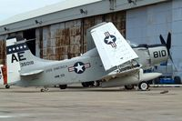 132532 @ KNPA - Douglas EA-1F Skyraider [8927] Pensacola NAS~N 10/04/2010
