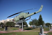 68-17023 - AH-1G Cobra on display at a Veterans Park in Cocoa Florida - by Florida Metal