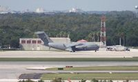 03-3127 @ MCO - C-17 support plane for Air Force One parked at Galaxy Aviation - by Florida Metal