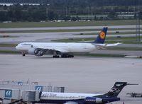 D-AIHK @ MCO - Lufthansa A340-600