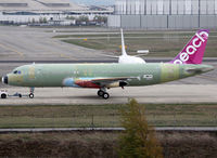 F-WWIP @ LFBO - C/n 5381 - For Peach - by Shunn311