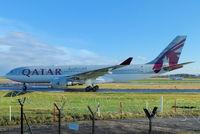 A7-AFM @ EGCC - Qatar Airways - by Chris Hall