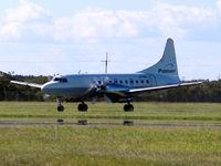 VH-PDL @ YBBN - Convair 580 [137] (Pionair Australia) Brisbane-International~VH 18/03/2007