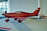 HA-XBY @ EDNY - Corvus Aircraft Corone Mk.1 [CNE01/001] Friedrichshafen~D 21/04/2005. Displayed no registration applied.