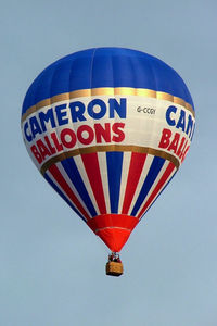 G-CCGY - Cameron Balloon Z-105 [10422]  Ashton Court ~G 15/08/2004