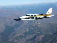 C-GNDL - Over Montana 2012 - by Perry Burford