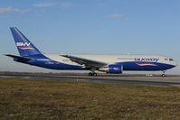 4K-SW880 @ LOWW - Silkway Boeing 767-300 - by Dietmar Schreiber - VAP