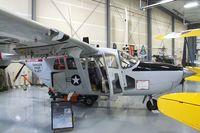 N3219K @ KBLI - Cessna O-2A at the Heritage Flight Museum, Bellingham WA