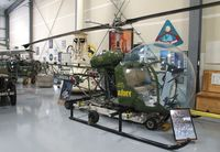N2199 @ KBLI - Bell 47G at the Heritage Flight Museum, Bellingham WA