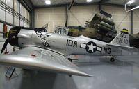 N190FS @ KBLI - North American AT-6D at the Heritage Flight Museum, Bellingham WA