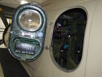N965AD @ KBLI - Douglas AD-4NA Skyraider at the Heritage Flight Museum, Bellingham WA