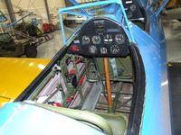 N65695 @ KBLI - Stearman (Boeing) E75 at the Heritage Flight Museum, Bellingham WA