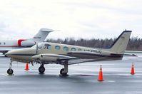 N340WG @ KBLI - Cessna 340 at the Bellingham Intl. Airport, Bellingham WA