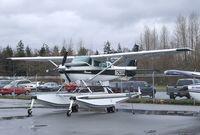 N6283Z @ KBLI - Cessna TU206G Turbo Stationair on floats at the Bellingham Intl. Airport, Bellingham WA