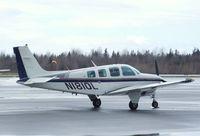 N1810L @ KBLI - Beechcraft A36 Bonanza 36 at the Bellingham Intl. Airport, Bellingham WA