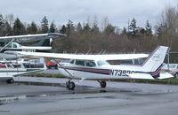 N739BC @ KBLI - Cessna 172N Skyhawk at the Bellingham Intl. Airport, Bellingham WA