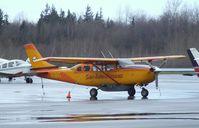 N684S @ KBLI - Cessna T207 Turbo Skywagon at the Bellingham Intl. Airport, Bellingham WA