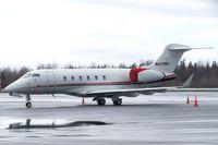 N877RF @ KBLI - Bombardier BD-100-1A10 Challenger 300 at the Bellingham Intl. Airport, Bellingham WA