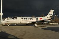 OE-GRB @ LOWW - Red Bull Cessna 550
