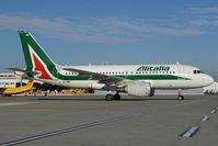 EI-IMM @ LOWW - Alitalia Airbus A319 - by Dietmar Schreiber - VAP