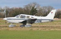 D-ESON @ EGSV - Just landed. - by Graham Reeve