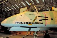 A-515 @ EGWC - FMA IA-58A Pucará, c/n: 018 at RAF Museum Cosford