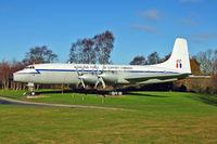 G-AOVF @ EGWC - 1958 Bristol 175 Britannia 312F, c/n: 13237
