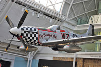 44-73979 - North American P-51D Mustang, c/n: 122-40519 at IWM Lambeth