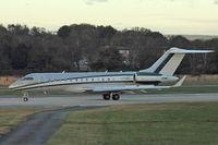 LX-GXX @ EGLF - 2008 Bombardier BD-700-1A10 Global Express, c/n: 9306