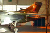 XX946 @ EGWC - Tail section of 1974 Panavia Tornado GR.1, c/n: P.02