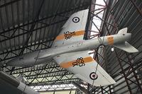 XL568 @ EGWC - Hawker Hunter T.7A, c/n: 41H-693719
