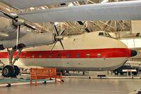XP411 @ EGWC - Armstrong Whitworth Argosy C.1, c/n: 6766