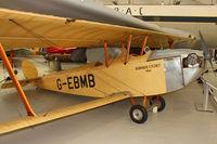 G-EBMB @ EGWC - 1924 Hawker Cygnet 1, c/n: 1