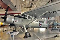 XL703 @ EGWC - Scottish Aviation Pioneer CC.1, c/n: 143