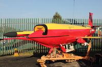 ZJ496 @ EGLF - GAF Jindivik Mk.203B at FAST