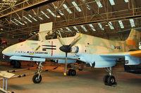 A-515 @ EGWC - FMA IA-58A Pucará, c/n: 018 - by Terry Fletcher