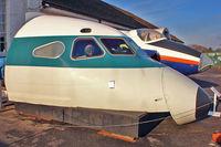 G-AWZI @ EGLF - Cockpit of 1971 Hawker Siddeley HS-121 Trident 3B-101, c/n: 2310 at FAST